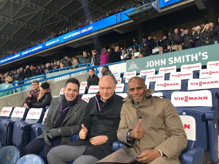 Frank Sinclair & Uwe Rosler Pitchside Pundits for Malaysian TV