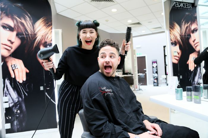 Emmerdale & 'Im a Celebrity' star Adam Thomas is pampered at Beauty Salon