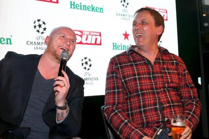 Hartson hosts Heineken