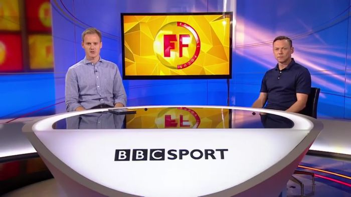 Paul Dickov makes his BBC World Football Focus show debut