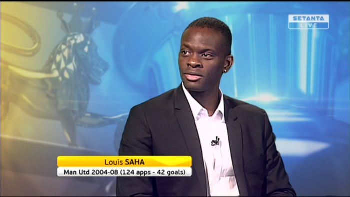 Louis Saha joins Setanta Sports