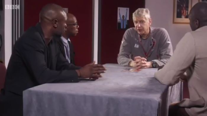 William Gallas, Ian Wright & Sol Campbell reunited with Arsene Wenger