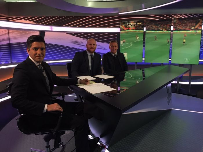 John Hartson makes his Premier League TV studio debut