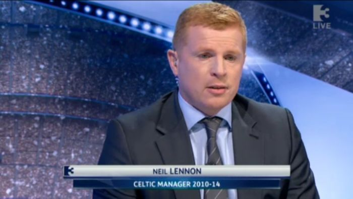 Neil Lennon Champions League punditry for Irish Broadcaster
