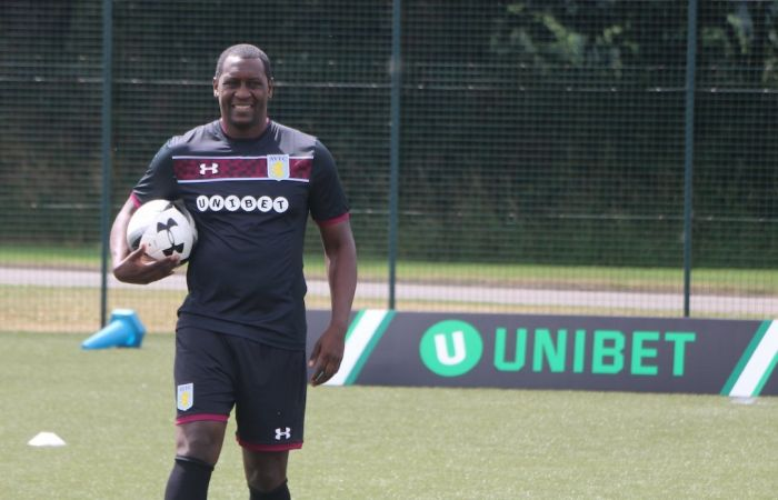 Emile Heskey 'scores' for Unibet