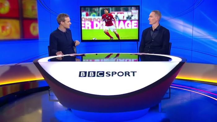 Chris Kirkland is Focussed for BBC World Football Show