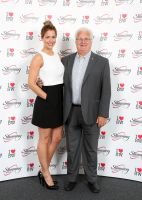 Gemma Atkinson Wows the Guys at Awards Day