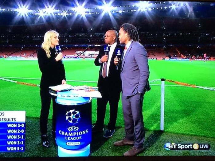 Christian Karembeu makes his 'BT Sport' Punditry Debut