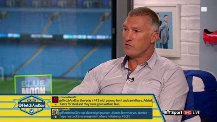 Nigel Pearson, Roberto Di Matteo & Dom Matteo are this weekends TV  pundits