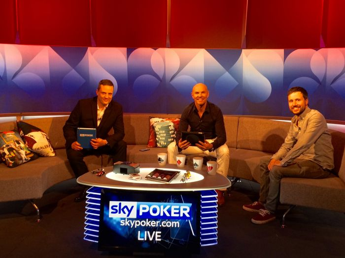 Paul Nixon takes on the pro's on Sky Poker show