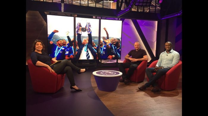 Emile Heskey & Matt Elliott are studio guests on Premier League TV