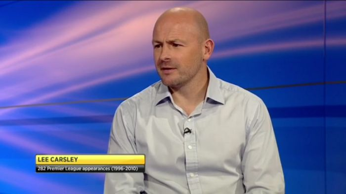 Lee Carsley is a guest on BBC World Football Focus Show
