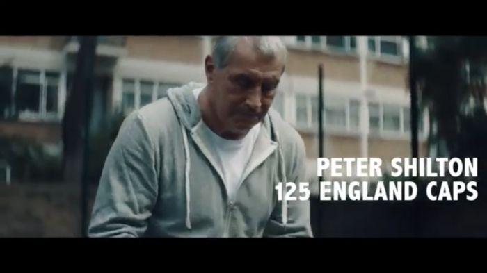 Peter Shilton 'Saves Blood' for England
