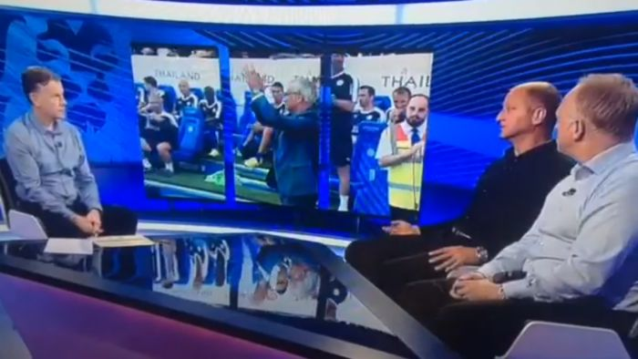 Leicester City Legend Matt Elliott back in the Premier League TV studio
