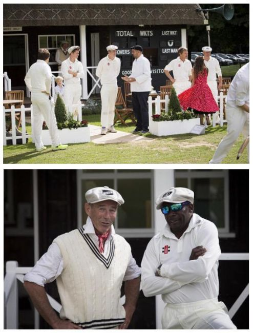 Gladstone Small & Shaun Udal 'hit guests for 6' at Corporate Cricket Match