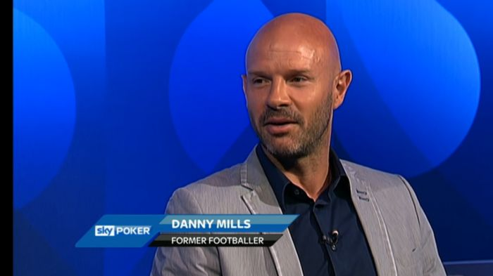 Danny Mills keeps his cards close to his chest for Sky Poker
