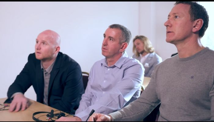 John Hartson & Nigel Winterburn Film Fun Commercial for Huawei