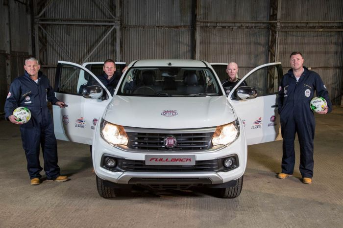 Horsfield & Gallagher are Fiat Ambassadors