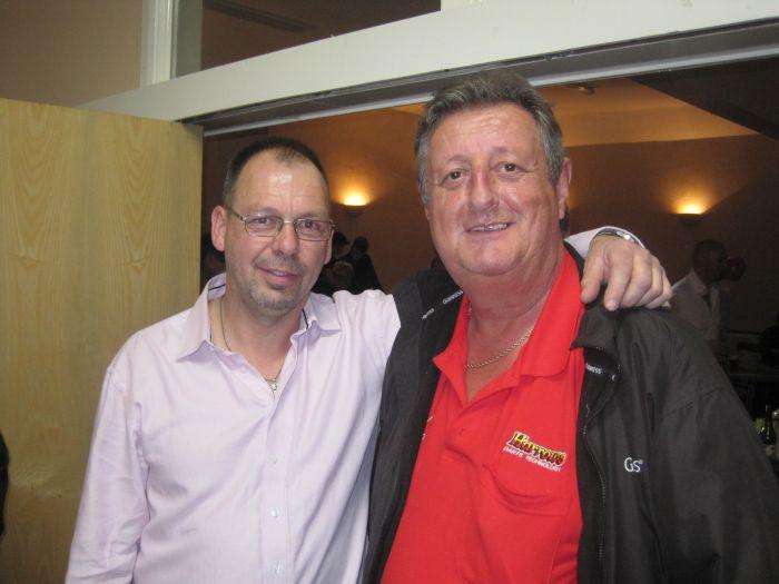 Eric Bristow 'Darts' into Stamford