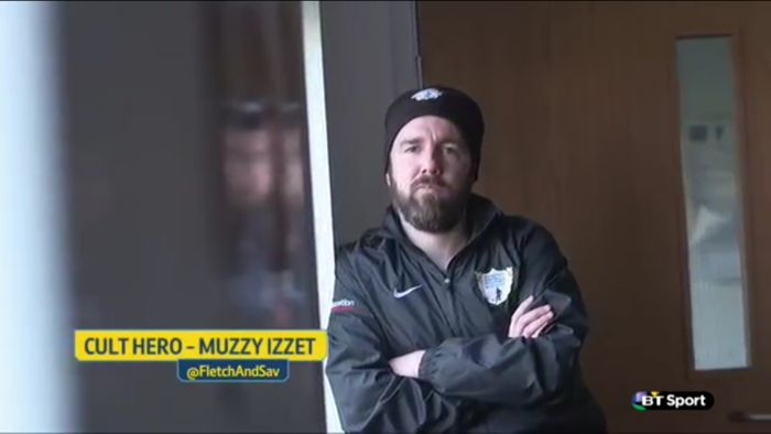 Muzzy Izzet is a BT Sport 'Cult Hero'