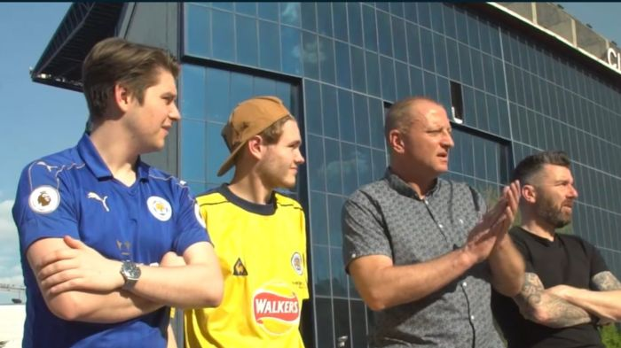 Leicester City Legends Drive into Madrid with Nissan for the Champions League 1/4 Finals
