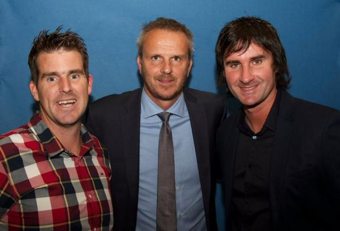 Didi Hamann helps raise money for Kids coaching in Wales