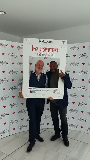 John Barnes gets 'Slimming World' in Motion at Awards Day